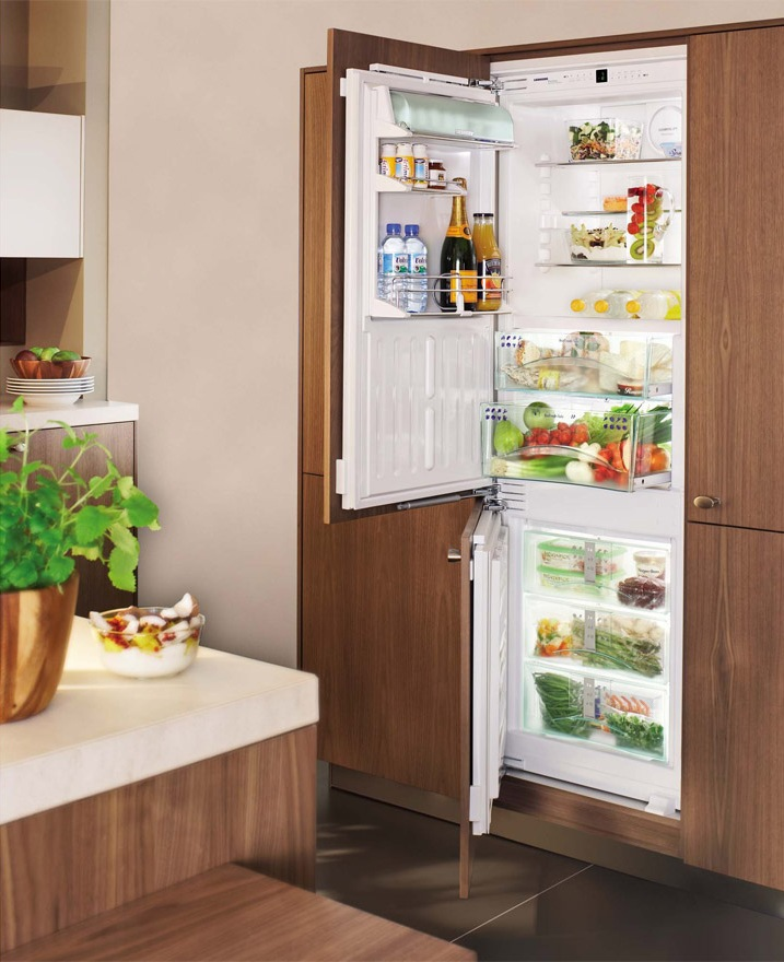 Abmessungen von Kühlschränken in verschiedenen Größen. Abmessungen ...