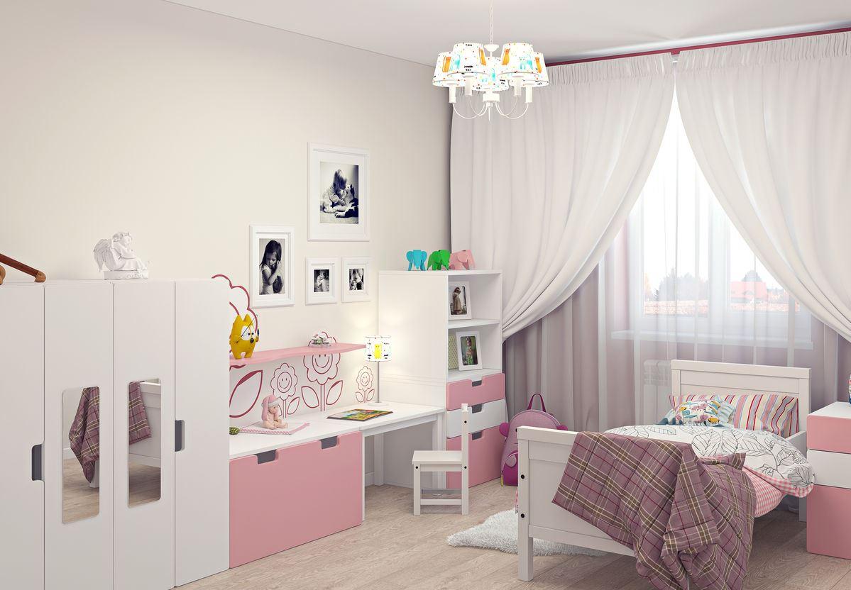 Kinderzimmer Ikea. Wir dekorieren ein Kinderzimmer im Stil von Ikea