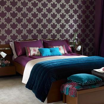 Die Verwendung Reflektierender Oberflächen In Einem Lila Schlafzimmer Wird  übrigens Unabhängig Vom Stil Empfohlen. Fakt Ist, Dass Purpur (wenn Es  Nicht Ganz ...
